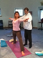 Teaching at Ananda University Nevada City CA